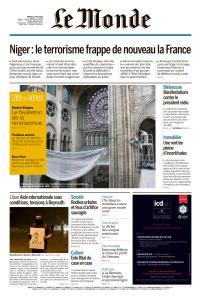 Le Monde du Mardi 11 Août 2020