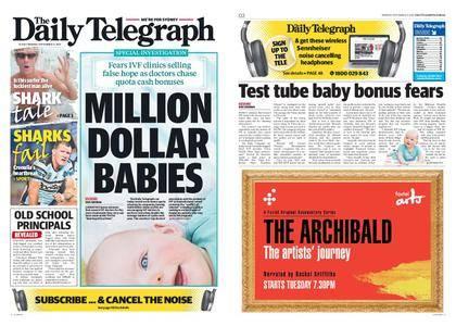 The Daily Telegraph (Sydney) – September 11, 2017