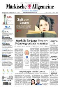 Märkische Allgemeine Zossener Rundschau - 06. Oktober 2018