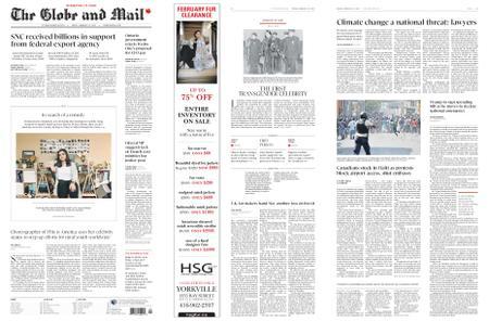 The Globe and Mail – February 15, 2019