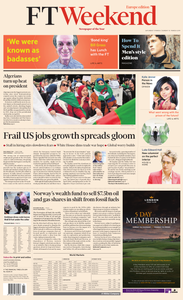 Financial Times Europe – 9 March 2019
