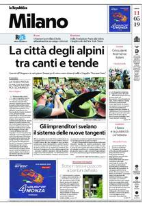 la Repubblica Milano – 11 maggio 2019