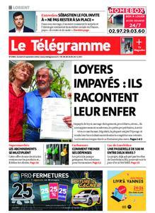 Le Télégramme Lorient – 25 septembre 2021