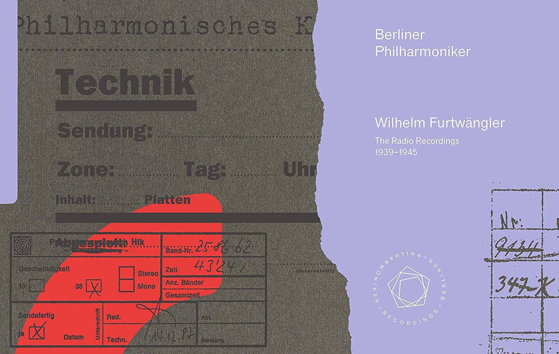 Wilhelm Furtwangler, Berliner Philharmoniker - The Radio Recordings 1939-1945 (2019) [22x SACD Set] SACD ISO + Hi-Res FLAC