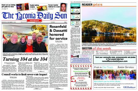 The Laconia Daily Sun – December 12, 2018