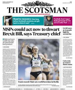 The Scotsman - 14 September 2020