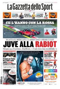 La Gazzetta dello Sport Roma – 01 luglio 2019