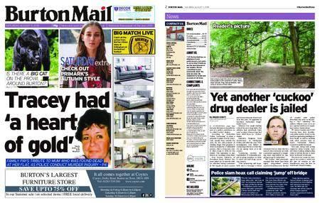 Burton Mail – August 11, 2018