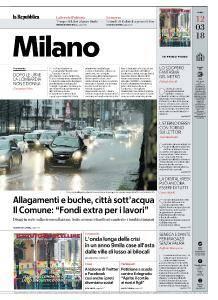 la Repubblica Milano - 12 Marzo 2018