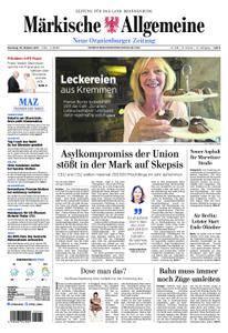 Neue Oranienburger Zeitung - 10. Oktober 2017