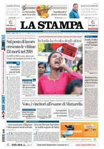 La Stampa Torino Provincia e Canavese - 3 Aprile 2018