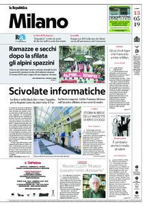 la Repubblica Milano – 13 maggio 2019