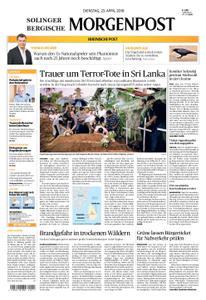 Solinger Morgenpost – 23. April 2019