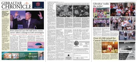 Gibraltar Chronicle – 01 October 2019