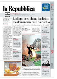 la Repubblica - 6 Gennaio 2019