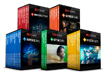 Red Giant Complete Suite 2016 for Adobe CS5-CC 2015.5 (28.10.2016) (Win/Mac)