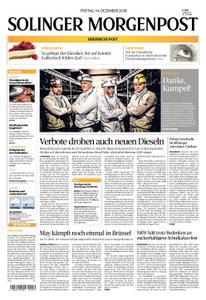 Solinger Morgenpost – 14. Dezember 2018