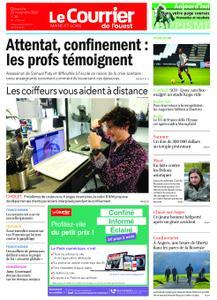 Le Courrier de l'Ouest Cholet – 22 novembre 2020