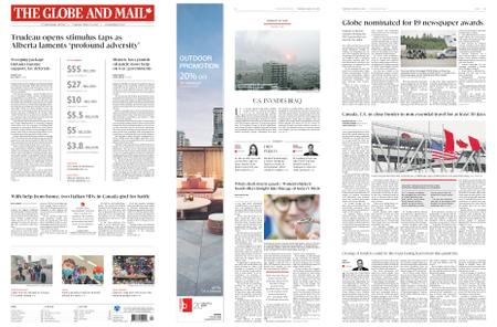 The Globe and Mail – March 19, 2020