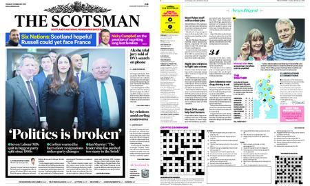 The Scotsman – February 19, 2019