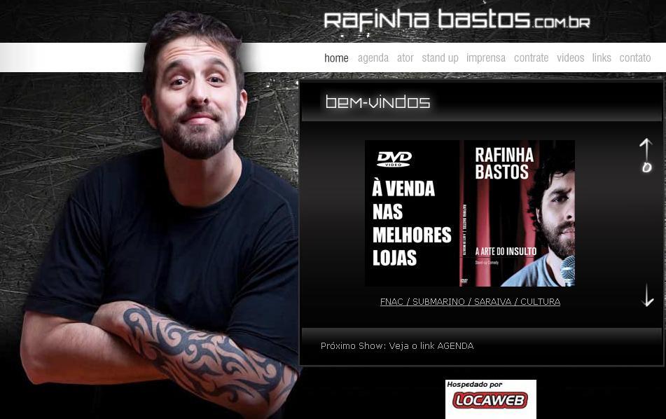 Rafinha Bastos – A Arte do Insulto