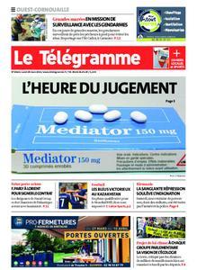 Le Télégramme Ouest Cornouaille – 29 mars 2021