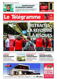 Le Télégramme Brest Abers Iroise – 02 décembre 2019