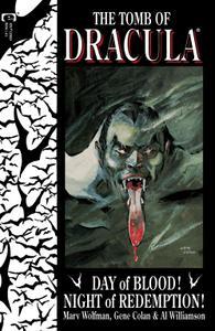 Tomb Of Dracula 001 1991 Digital Shadowcat