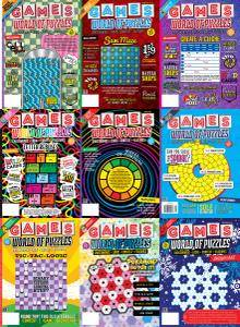 Games World of Puzzles - 2016 Full Year Issues Collection