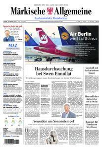 Märkische Allgemeine Luckenwalder Rundschau - 13. Oktober 2017
