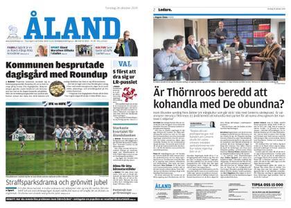 Ålandstidningen – 24 oktober 2019