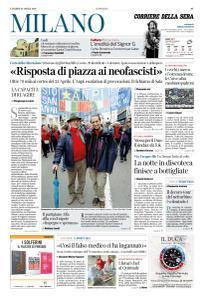 Corriere della Sera Milano - 26 Aprile 2019