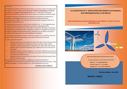 LA CONCEPTION ET L' APPLICATION DES PROJETS ELECTRIQUES/ ELECTRONIQUES DANS LA VIE REELLE