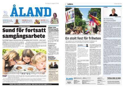 Ålandstidningen – 16 augusti 2018