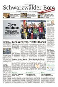 Schwarzwälder Bote Hechingen - 23. Februar 2018
