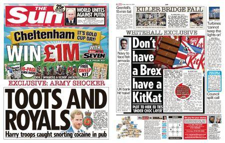 The Sun UK – 16 March 2018