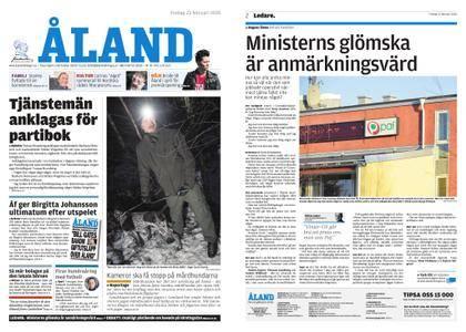 Ålandstidningen – 23 februari 2018