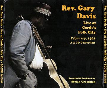 Rev. Gary Davis - Rev. Gary Davis Live at Gerde's Folk City February, 1962 (2009) 3CD Set [Re-Up]