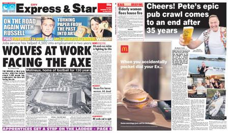 Express and Star City Edition – September 14, 2019