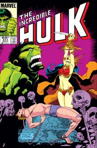 Incredible Hulk 311 1985