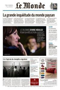 Le Monde du Dimanche 25 et Lundi 26 Février 2018