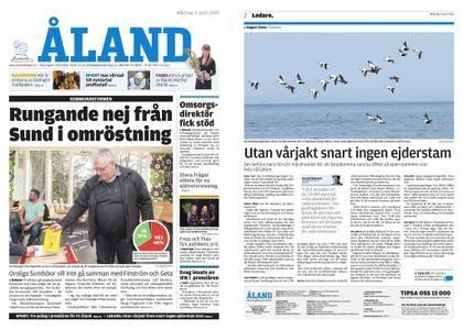Ålandstidningen – 09 april 2018