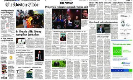 The Boston Globe – December 07, 2017