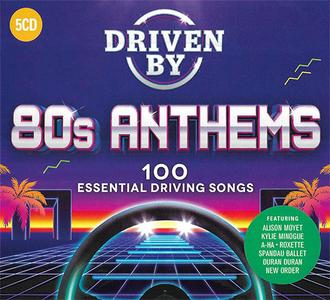 VA - Driven By 80s Anthems (5CD, 2019)
