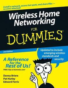 Wireless Home Networing For Dummies
