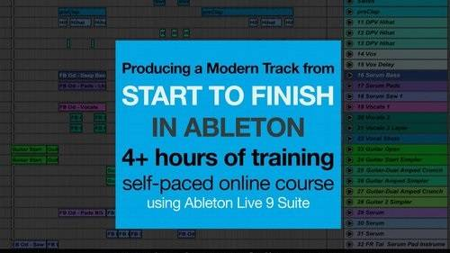 Producing a Modern Track from Start to Finish in Ableton (2016)