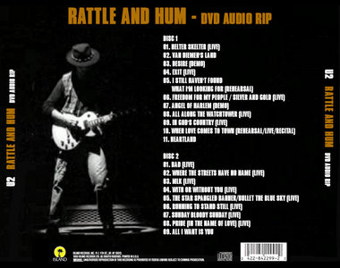 U2 - Rattle And Hum (DVD-Video Audio Demux - AC3 6ch to PCM
