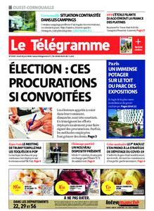 Le Télégramme Ouest Cornouaille – 25 juin 2020