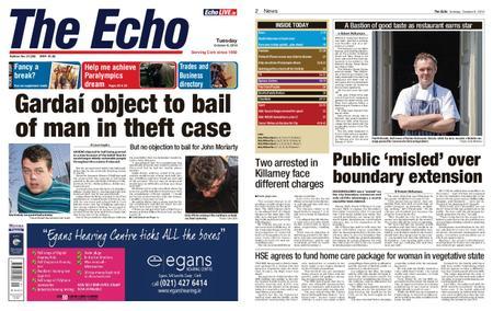 Evening Echo – October 08, 2019