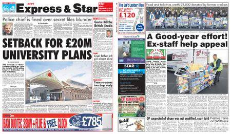 Express and Star City Edition – December 08, 2017